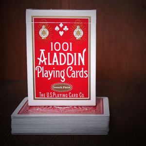 알라딘 페더백 레드 (Aladdin Playing Cards Standard Featherback - Red)