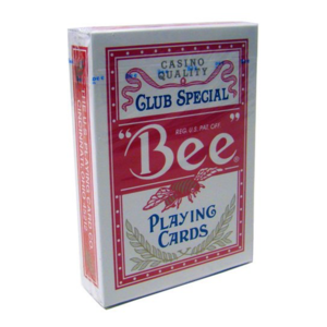정품 비덱 레드 (Bee deck clubspecial casinoquality - Red)