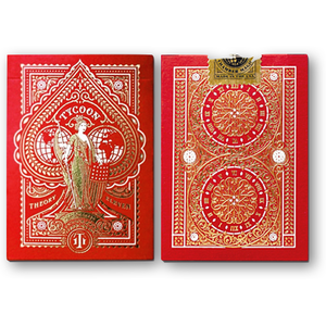 타이쿤덱-레드 (Tycoon Playing Cards - Red)