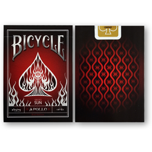 아폴로 플레잉 카드 - 레드 ( Bicycle Apollo Playing Card Deck_ Red)
