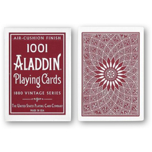 알라딘 돔백 레드 (Vintage 1001 Aladdin Dome Back Playing Cards - Red)